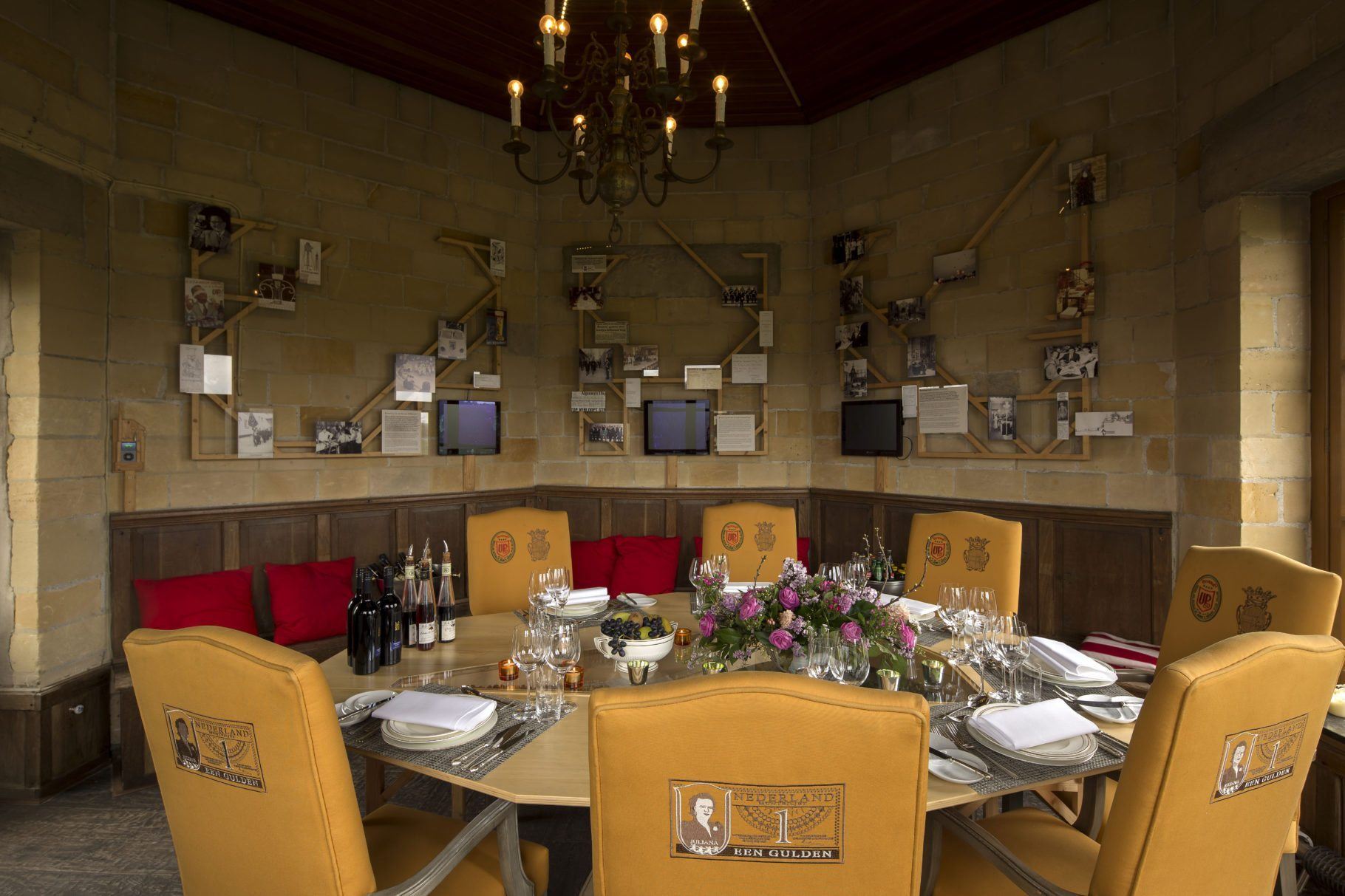 Private dining Torentje de Gulden | Château Neercanne