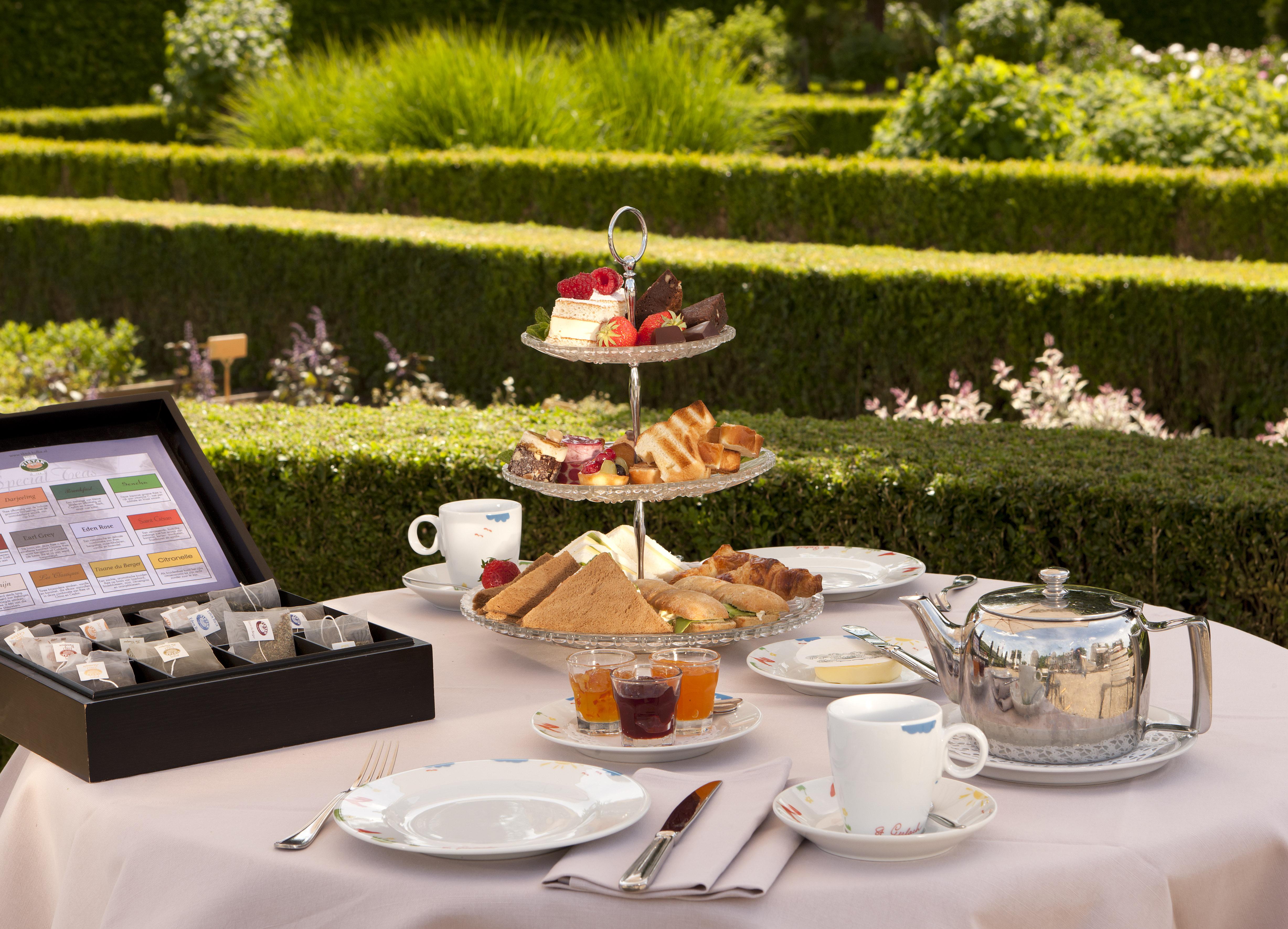 Château St. Gerlach - afternoon tea