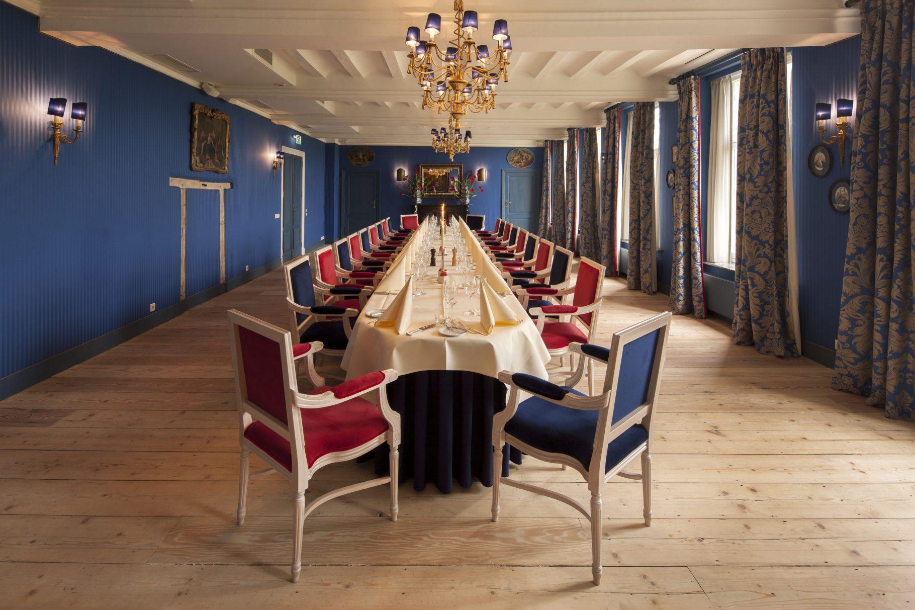 Chateau St. Gerlach- De Syles de Fanson zaal