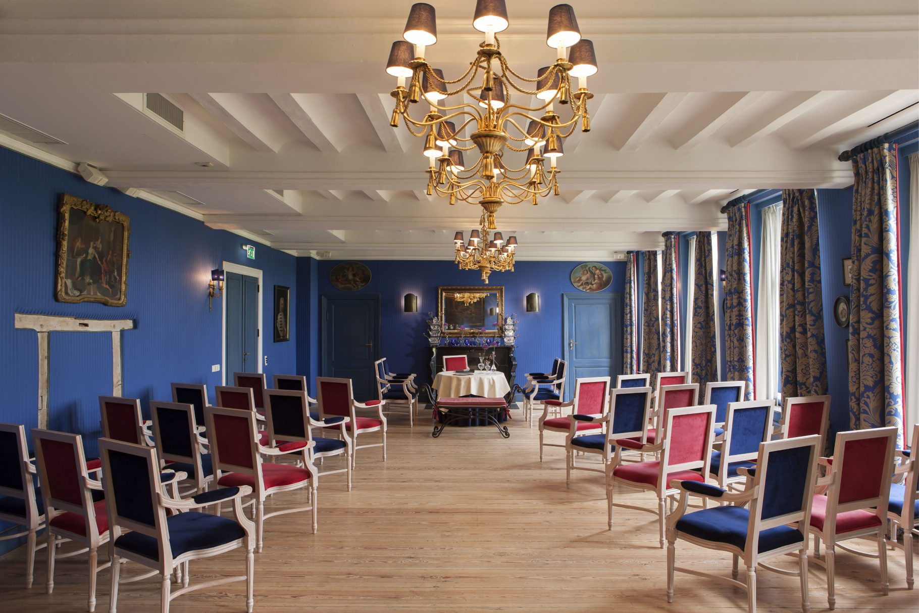 Huwelijk Château St. Gerlach salon